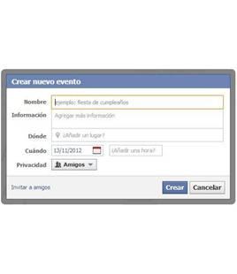 ¿Quieres organizar una fiesta e invitar a tus amigos de Facebook?